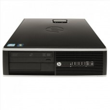 Calculatoare HP Elite 8000 SFF, Intel Core 2 Duo E8400 3.00GHz, 4GB DDR2, 160GB SATA, DVD-RW