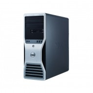 Workstation Dell T5500, Intel Xeon Hexa Core E5645 2.40-2.67GHz, 12GB DDR3, 500GB SATA, GeForce GT 605 1GB, DVD-RW