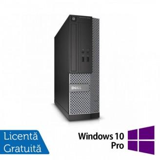 Calculator DELL OptiPlex 3010 Desktop, Intel Core i3-2100 3.10GHz, 4GB DDR3, 250GB SATA, HDMI, DVD-RW + Windows 10 Pro