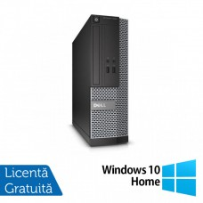 Calculator DELL OptiPlex 3010 Desktop, Intel Core i3-3220 3.30GHz, 4GB DDR3, 250GB SATA, HDMI, DVD-RW + Windows 10 Home