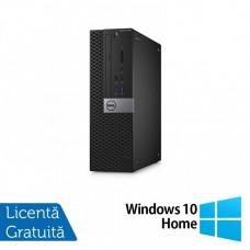Calculator DELL Optiplex 5040 SFF, Intel Core i5-6400 2.70GHz, 8GB DDR4, 240 SSD, DVD-RW + Windows 10 Home