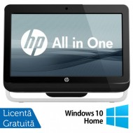 All In One HP Pro 3420, 20 Inch, Intel Core i3-2120 3.30GHz, 8GB DDR3, 500GB SATA, DVD-RW + Windows 10 Home