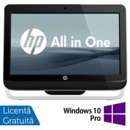 All In One HP Pro 3420, 20 Inch, Intel Core i3-2120 3.30GHz, 4GB DDR3, 500GB SATA, DVD-RW + Windows 10 Pro