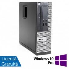 Calculator Dell OptiPlex 390 SFF, Intel Core i3-2100 3.10GHz, 4GB DDR3, 250GB SATA, DVD-ROM + Windows 10 Pro