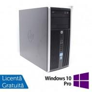 Calculator HP 6300 Pro, Intel Pentium G2020 2.90GHz, 4GB DDR3, 250GB SATA, DVD-RW + Windows 10 Pro