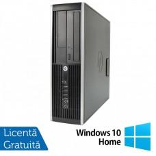 Calculator HP Compaq 6200 Pro SFF, Intel Core i5-2400 3.10GHz, 4GB DDR3, 500GB SATA, DVD-RW + Windows 10 Home