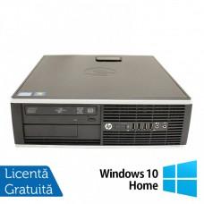 Calculator HP 8200 Elite SFF, Intel Core i7-2600 3.40GHz, 4GB DDR3, 500GB SATA, DVD-RW + Windows 10 Home