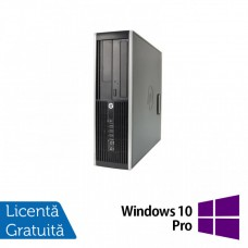 Calculator HP Compaq Elite 8300 SFF, Intel Core i5-3470 3.20GHz, 4GB DDR3, 120GB SSD, DVD-RW + Windows 10 Pro