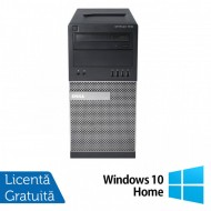 Calculator Dell OptiPlex 7010 Tower, Intel Core i5-3450 3.10GHz, 4GB DDR3, 500GB SATA, DVD-RW + Windows 10 Home