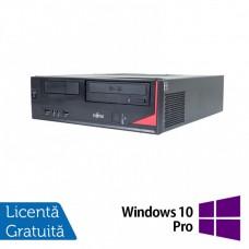 Calculator Fujitsu Esprimo E420, Intel Pentium G3220 3.00GHz, 4GB DDR3, 320GB SATA, DVD-ROM + Windows 10 Pro