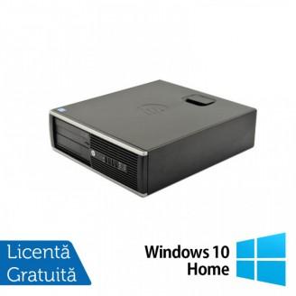 Calculator HP 6300 SFF, Intel Pentium G2020 2.90GHz, 4GB DDR3, 500GB SATA + Windows 10 Home