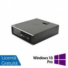 Calculator HP 6300 SFF, Intel Core i7-3770S 3.10GHz, 4GB DDR3, 250GB SATA, DVD-ROM + Windows 10 Pro
