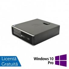 Calculator HP 6300 SFF, Intel Pentium G2020 2.90GHz, 4GB DDR3, 500GB SATA + Windows 10 Pro