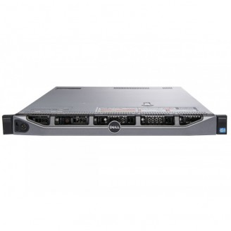Server Refurbished Dell R620, 2 x Intel Xeon Hexa Core E5-2620 - 2.0GHz up to 2.5GHz, 128GB DDR3, 2 x 600GB SAS/10K + 4 x 900GB SAS/10K, Perc H710/512MB, 4 x Gigabit, 2 x PSU