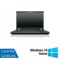 Laptop LENOVO ThinkPad T520, Intel Core i5-2520M 2.50GHz, 4GB DDR3, 500GB SATA, DVD-RW, 15.6 Inch, Webcam + Windows 10 Home