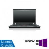 Laptop LENOVO ThinkPad T530, Intel Core i5-3320M 2.60GHz, 8GB DDR3, 500GB SATA, DVD-RW, 15.6 Inch, Webcam + Windows 10 Pro