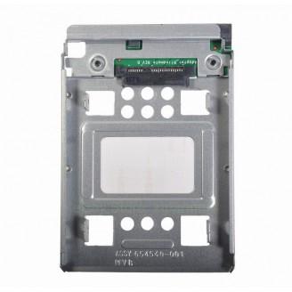 Adaptor HDD SAS/SATA, Adapter Tray, 2.5 to 3.5 pentru server/workstation/PC, 654540-001