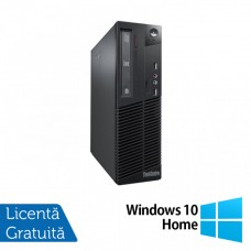 Calculator Lenovo Thinkcentre M73 SFF, Intel Pentium G3220 3.00GHz, 4GB DDR3, 500GB SATA + Windows 10 Home