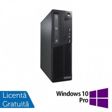 Calculator Lenovo Thinkcentre M73 SFF, Intel Pentium G3220 3.00GHz, 4GB DDR3, 500GB SATA + Windows 10 Pro