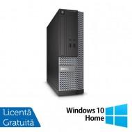 Calculator DELL 3020 SFF, Intel Core i3-4130 3.40 GHz, 8GB DDR3, 500GB SATA, DVD-ROM + Windows 10 Home