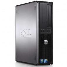 Calculator Dell Optiplex 380 Desktop, Intel Core 2 Duo E7400 2.80GHz, 4GB DDR2, 250GB SATA, DVD-RW
