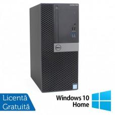 Calculator DELL OptiPlex 7040 Tower, Intel Core i5-6500 3.20GHz, 8GB DDR4, 240GB SSD, DVD-RW + Windows 10 Home