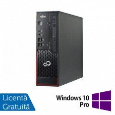 Calculator Fujitsu C700, Intel Pentium G620 2.60GHz, 4GB DDR3, 250GB SATA, Radeon HD7470 1GB GDDR3, DVD-ROM + Windows 10 Pro