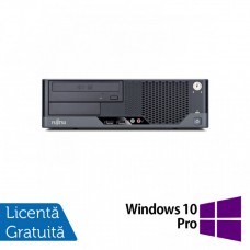 Calculator FUJITSU SIEMENS E9900 SFF, Intel Core i3-540 3.06GHz, 4GB DDR3, 320GB SATA + Windows 10 Pro