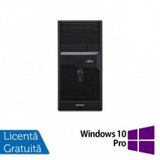 Calculator FUJITSU SIEMENS P3721 Tower, Intel Core i5-650 3.20GHz, 4GB DDR3, 250GB SATA, DVD-ROM + Windows 10 Pro
