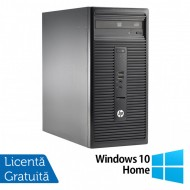 Calculator HP 280 G1 Tower, Intel Core i5-4570S 2.90GHz, 4GB DDR3, 500GB SATA, DVD-RW + Windows 10 Home