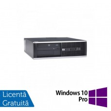 Calculator HP 4300 Pro SFF, Intel Pentium G2020 2.90GHz, 4GB DDR3, 500GB SATA, DVD-RW + Windows 10 Pro