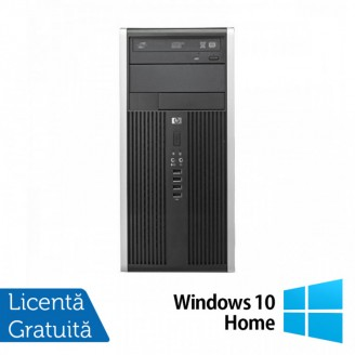 Calculator HP 6300 Pro Tower, Intel Pentium G640 2.80GHz, 4GB DDR3, 250GB SATA, DVD-RW + Windows 10 Home