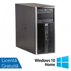 Calculator HP 6300 Tower, Intel Core i3-3220 3.30GHz, 4GB DDR3, 250GB SATA, DVD-RW + Windows 10 Home