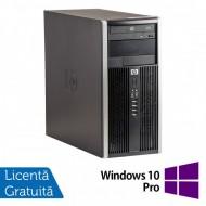 Calculator HP 6300 Tower, Intel Core i3-3220 3.30GHz, 4GB DDR3, 250GB SATA, DVD-RW + Windows 10 Pro