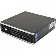 Calculator HP 8000 Elite USDT, Intel Core 2 Duo E8400 3.00GHz, 4GB DDR3, 250GB SATA, DVD-ROM