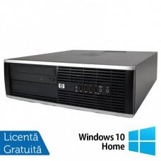 Calculator HP 8100 SFF, Intel Core i3-540 3.06GHz, 4GB DDR3, 320GB SATA, DVD-RW + Windows 10 Home