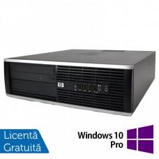 Calculator HP 8100 SFF, Intel Pentium G6950 2.80GHz, 4GB DDR3, 250GB SATA + Windows 10 Pro
