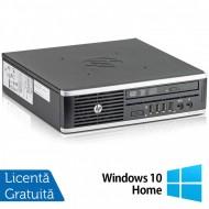 Calculator HP 8300 Elite USDT, Intel Core i3-3220 3.30GHz, 4GB DDR3, 160GB SATA, DVD-ROM + Windows 10 Home