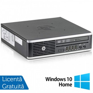 Calculator HP 8300 USDT, Intel Core i5-3470S 2.90GHz, 8GB DDR3, 120GB SSD, DVD-RW + Windows 10 Home