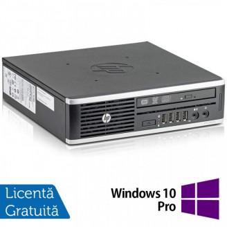 Calculator HP 8300 Elite USDT, Intel Core i3-3220 3.30GHz, 8GB DDR3, 120GB SSD, DVD-ROM + Windows 10 Pro