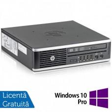 Calculator HP 8300 USDT, Intel Core i3-3220 3.30GHz, 4GB DDR3, 500GB SATA, DVD-RW + Windows 10 Pro
