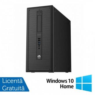 Calculator HP 800 G1 Tower, Intel Core i5-4460 3.20GHz, 4GB DDR3, 500GB SATA, DVD-RW + Windows 10 Home