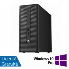 Calculator HP 800 G1 Tower, Intel Core i5-4460 3.20GHz, 4GB DDR3, 500GB SATA, DVD-RW + Windows 10 Pro