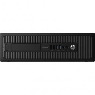 Calculator HP Prodesk 600G1 SFF, Intel Core i3-4130 3.40GHz, 4GB DDR3, 500GB SATA, DVD-RW
