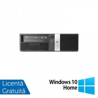 Calculator HP RP5800 SFF, Intel Core i5-2400 3.10GHz, 4GB DDR3, 250GB SATA, DVD-RW + Windows 10 Home