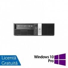Calculator HP RP5810 SFF, Intel Core i3-4150 3.50GHz, 4GB DDR3, 500GB SATA, DVD-ROM + Windows 10 Pro
