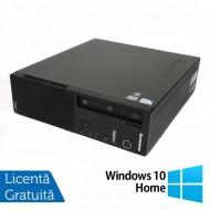 Calculator LENOVO Edge E71 SFF, Intel Pentium G840 2.80GHz, 4GB DDR3, 250GB SATA, DVD-RW + Windows 10 Home