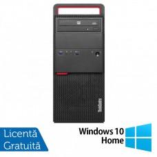Calculator LENOVO M800 Tower, Intel Core i5-6500 3.20GHz, 8GB DDR4, 120GB SSD + 500GB HDD, DVD-RW + Windows 10 Home