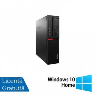 Calculator LENOVO M700 SFF, Intel Core i5-6400T 2.20GHz, 4GB DDR4, 500GB SATA + Windows 10 Home
