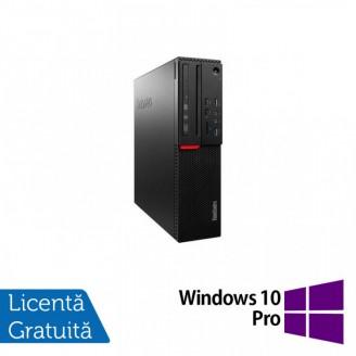 Calculator LENOVO M700 SFF, Intel Core i3-6100 3.70GHz, 8GB DDR4, 500GB SATA + Windows 10 Pro